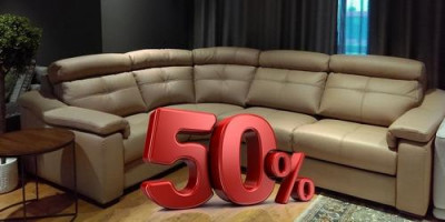 Скидка 50% на диваны Hilton и Oberon!