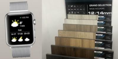 Купи ламинат и выиграй часы Apple Watch!
